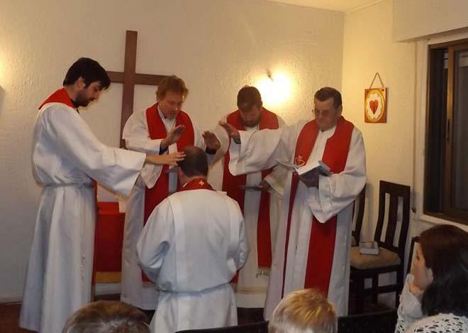 Instalado James Tino como pastor de la Misión Luterana Providencia